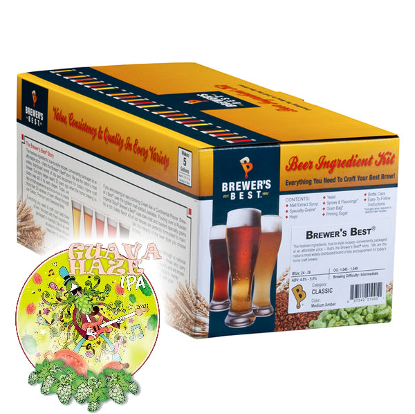 Guava Haze IPA Kit - Brewer's Best