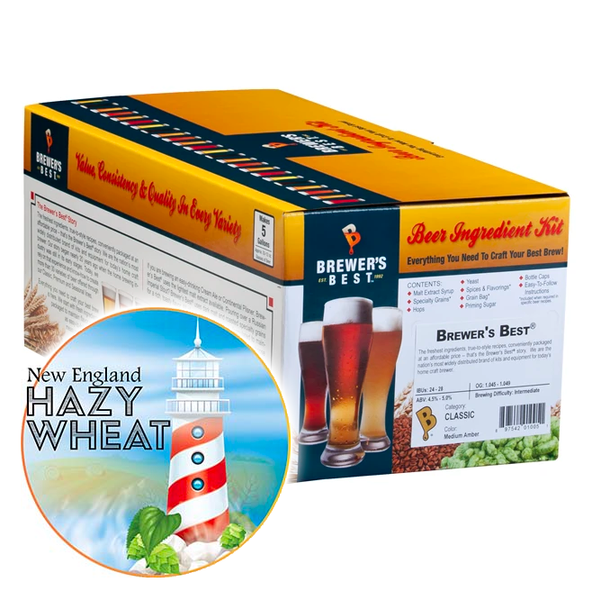 New England Hazy Wheat Kit - Brewer's Best