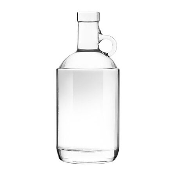 Clear Moonshine Bottle 750ml (Single Bottle)