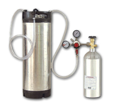 Kegging Starter Kit - New Ball Lock Keg 2.5 Lb. Tank