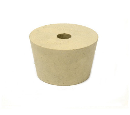 #8.5 Rubber Stopper (Drilled)