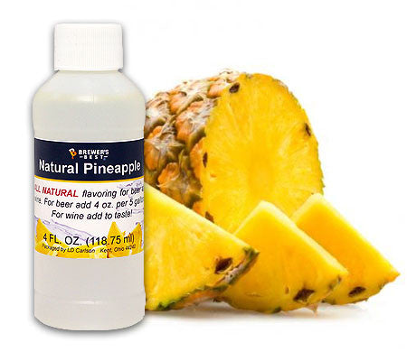 All Natural Pineapple Fruit Flavoring (4 oz)
