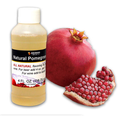 All Natural Pomegranate Fruit Flavoring (4 oz)