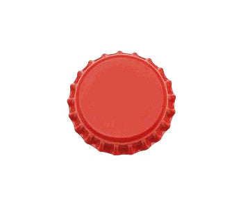 Red Oxygen Barrier Bottle Caps - 144 Count