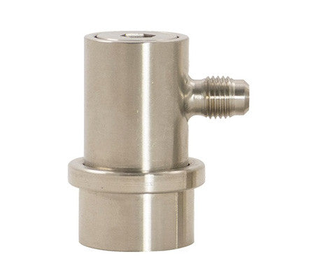 Ball Lock Beer Out Stainless Disconnect - Flared