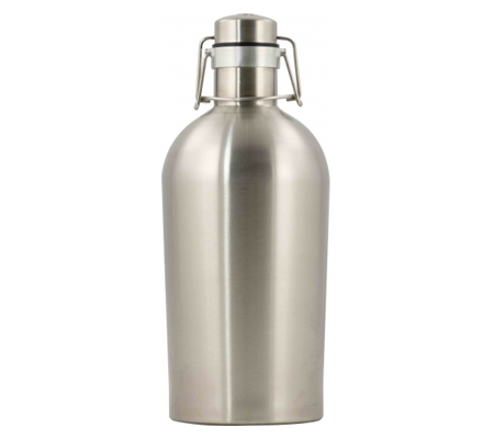 Stainless Steel Flip Top Growler