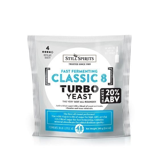 Still Spirits 48 Hour Classic Turbo Yeast
