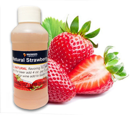 All Natural Strawberry Fruit Flavoring (4 oz)