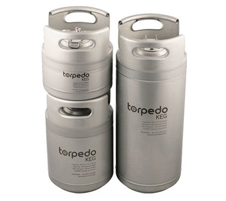 Torpedo Ball Lock 2.5 Gallon Keg