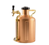 GrowlerWerks uKeg Pressurized SS Growler 128 oz - Copper - FREE CARRY BAG!