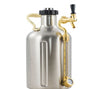 GrowlerWerks uKeg Pressurized SS Growler 128 oz