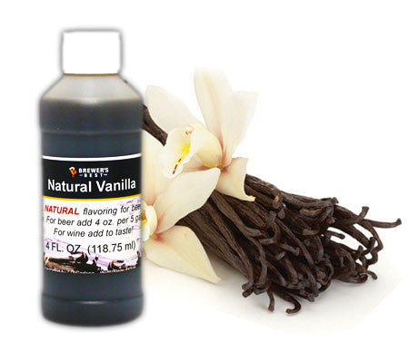 All Natural Vanilla Flavoring (4 oz)