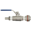 "Stainless Weldless 1/2"" Ball Valve"