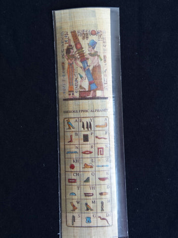 bookmark-handmade-papyrus-Djed-pillar-hieroglyphics-made-in-egypt
