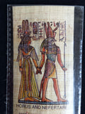 bookmark-handmade-papyrus-horus-and-nefertari-made-in-egypt