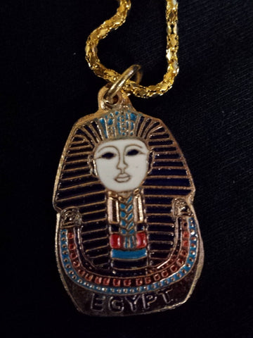 brass-and-enamel-necklace-king-tut-bust-with-chain-handmade-in-egypt