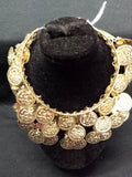 belly-dancing-3-row-coin-bracelet-embossed-coins-gold-tone-made-in-egypt-1