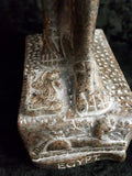 Aswan Granite Khnum  Statue Medium. Made in Egypt by Semed.