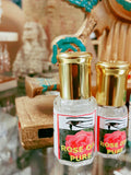 Shezmu Rose Collection PURE ROSE Egyptian Oils Essences 5ml roll-on Egypt