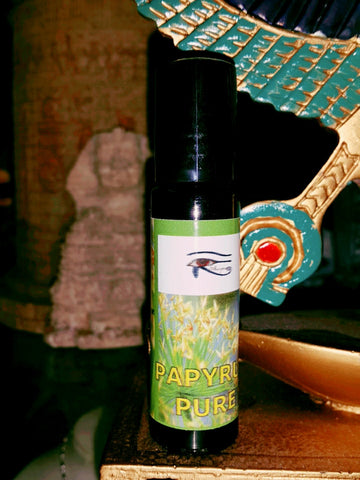 Shezmu PURE PAPYRUS Egyptian Oils Essences 10ml roll-on Egypt