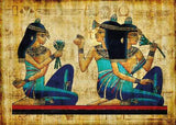 Ancient Egyptians using Blue Lotus