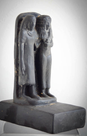 museum-reproduction-two-standing-persons-matt-made-in-egypt-imported-into-australia