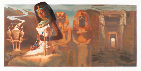 Shezmu PHARONIC Collection Queen of Egypt  Egyptian Essences Oils 10ml roll-on. Imported from Egypt