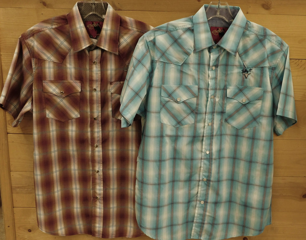 Short Sleeve Snap Shirts