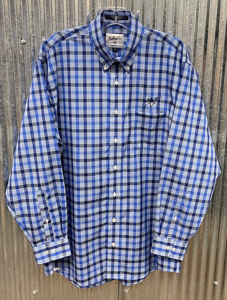 Navy & Blue Plaid