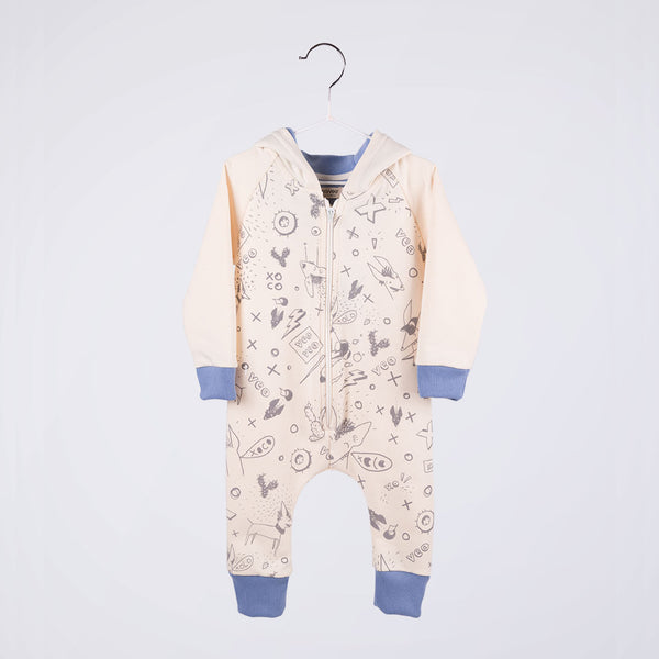 Wall Jumpsuit / Blue