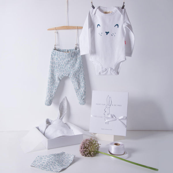 Little Hare Gift Set / Grey