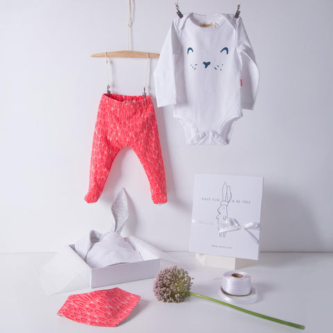 Little Hare Gift Set / Pink