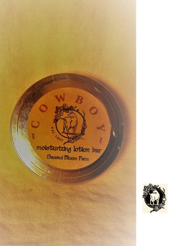 Cowboy Lotion Bar