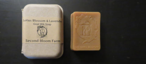 Lotus Blossom and Lavender Soap