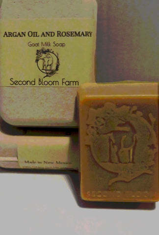 Argan Oil and Rosemary Soap