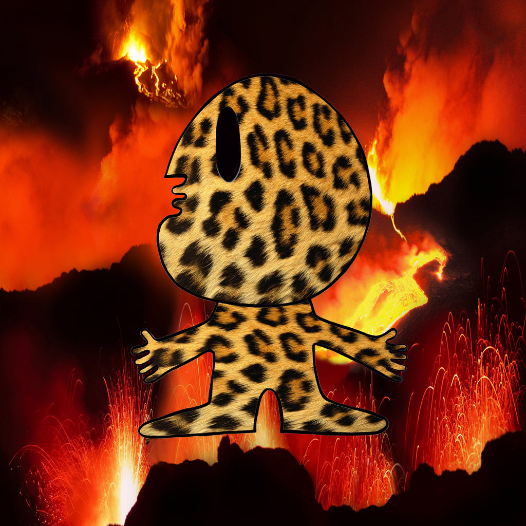 The Main Man Lava Cheetah