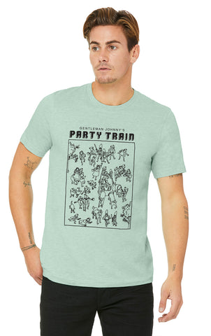 Unisex T-Shirt -- Gentleman Johnny's Party Train