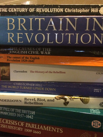 Mike's Library -- The English Revolution