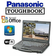 RUGGED PANASONIC CF-53 TOUGHBOOK Intel Core i5 / 16GB / 1TB NON-TOUCH WINDOWS 7