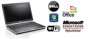 "Latitude 15.6"" Premium Refurbished Notebook PC - E6520 with 8GB RAM, New 512GB Solid State Drive SSD, Super Fast Intel Core i7 2.7GHz CPU, WiFi, DVD/RW and Windows 7 PRO & MS Office Preinstalled"