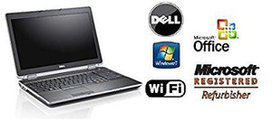 "Premium Refurbished Dell 15.6"" Notebook- Latitude E6520 -Intel i7-Quad Core CPU - 8GB DDR3 RAM - New 120GB Solid State Drive SSD - Windows 7 PRO 64-Bit OS & MS Office Preinstalled - DVD/RW"