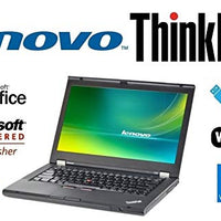 Custom Notebook PC - ThinkPad T430 - 14 Inch LED - 3rd Gen Core i7-3520M 2.9GHz –Upgraded to 8GB DDR3 RAM - 'New' 256GB SSD - Windows 10 Professional - DVD±RW - USB 3.0 - WiFi