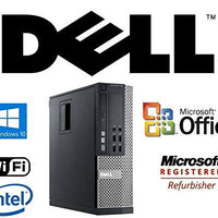 Refurbished Optiplex Intel i5-Quad Core 3.1GHz CPU 8GB DDR3 RAM New 512GB Solid State Drive SSD Windows 10 Pro + MS Office WiFi DVD-RW