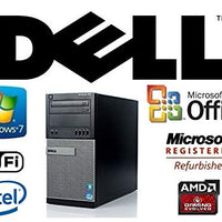 Custom AMD Radeon HD7670 4GB HDMI Gaming System Intel Quad Core i7 3.4GHz / 24GB RAM/New 1TB HDD/Windows 7 Pro/WiFi PC