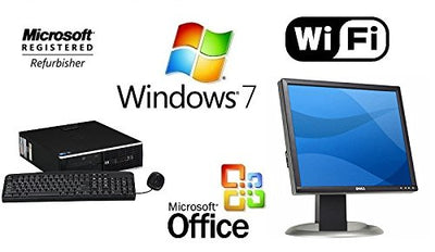 HP ELITE QUAD CORE i5 WINDOWS 7 COMPUTER 16GB 1TB HDMI GAMING TOWER +19