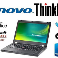 Sleek Enhanced Laptop PC - ThinkPad T430 - 14-Inch LED – Quad-Core i7 Processor (Turbo Boost 3.3GHz) - Upgraded to 16GB DDR3 RAM - 'New' 120GB Solid State Drive SSD - Windows 7 Pro - DVD±RW - WiFi