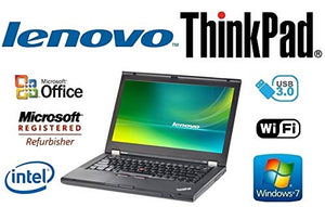 Custom Notebook PC - ThinkPad T430 - 14 Inch LED - 3rd Gen Core i7-3520M 2.9GHz –Upgraded to 16GB DDR3 RAM - 'New' 1TB HDD - Windows 7 Professional - DVD±RW - USB 3.0 - WiFi