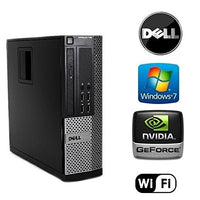 Dell Optiplex 790 Computer Intel i5-Quad core 3.1GHz Processor 32GB RAM 512GB SSD Hard Windows 7 Pro DVD-RW WiFi Desktop PC
