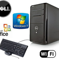 Dell Vostro 470 Quad Core i7-3770 3.4 GHz HDMI Gaming Tower Windows 7 Pro 24GB RAM New 3TB HDD + USB 3.0 + Card Reader + 4GB NVIDIA GT730 Video Card WiFi Desktop PC Computer System + MS Office