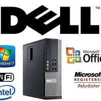 Upgraded Optiplex Intel i5-Quad Core 3.1GHz CPU 12GB DDR3 RAM New 120GB Solid State Drive SSD Windows 7 Pro + MS Office WiFi DVD-RW